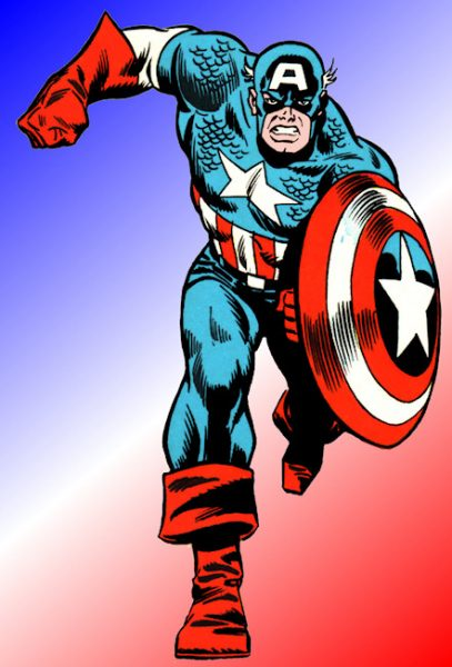 Captain America - Top Five Superheroes without Powers