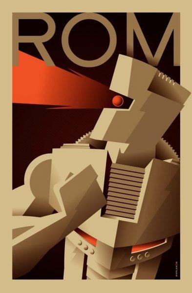 ROM #1 variant cover