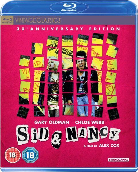 sid and nancy blu-ray