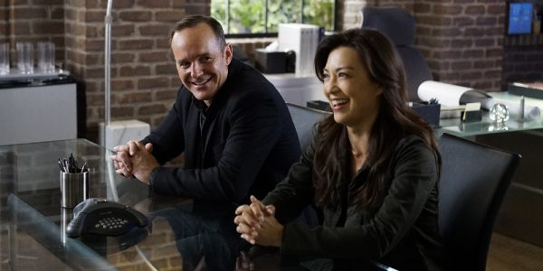 """MARVEL'S AGENTS OF S.H.I.E.L.D. - """"Meet the New Boss"""" - Daisy goes to battle Ghost Rider at a terrible cost, and Coulson faces the new Director, and his bold agenda surprises them all, on """"Marvel's Agents of S.H.I.E.L.D.,"""" TUESDAY, SEPTEMBER 27 (10:00-11:00 p.m. EDT), on the ABC Television Network. (ABC/Jennifer Clasen) CLARK GREGG, MING-NA WEN"""
