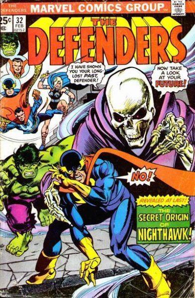 Nighthawk - 10 Marvel Heroes The Defenders