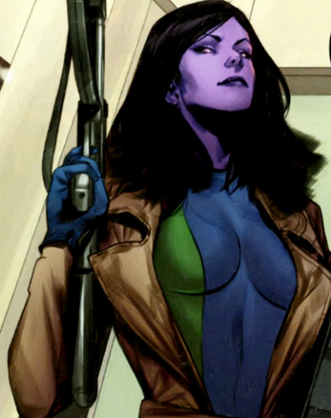 Purple Woman - 10 Marvel Heroes The Defenders