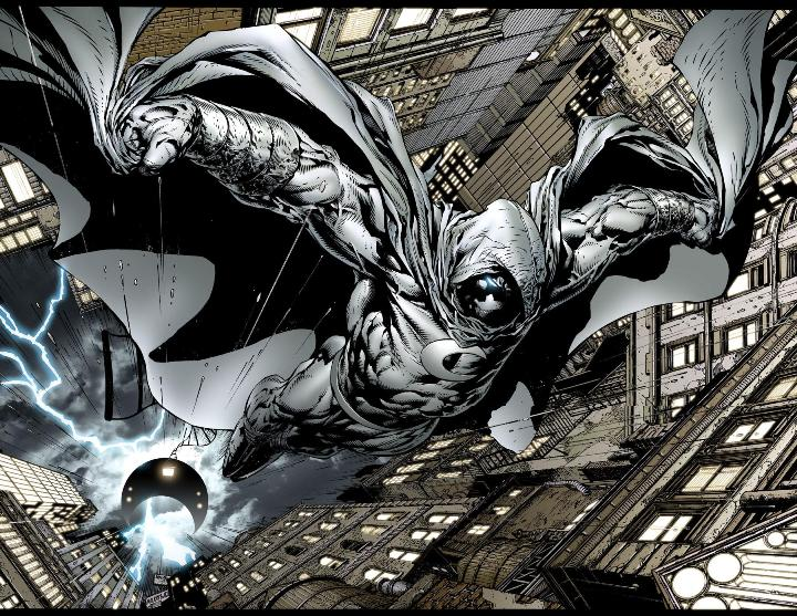 moon knight - 10 Marvel Heroes The Defenders