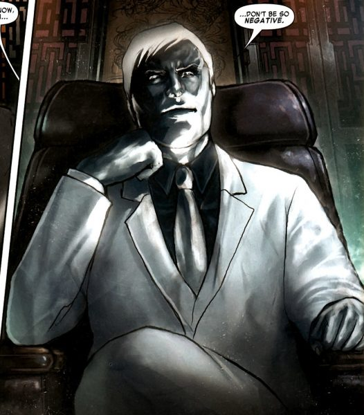 mr negative - Spider-Man villains