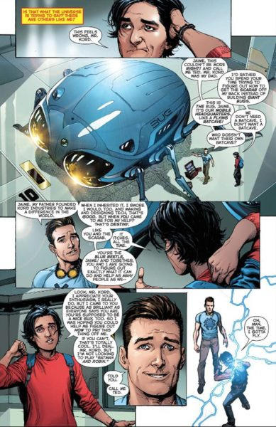 blue beetle rebirth #1 - i2