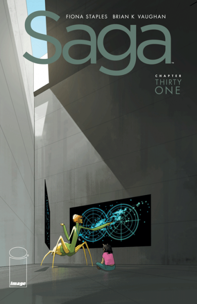 saga #31 - 2016 Harvey Awards