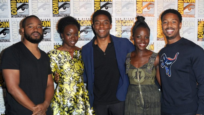 Black Panther movie - cast at SDCC