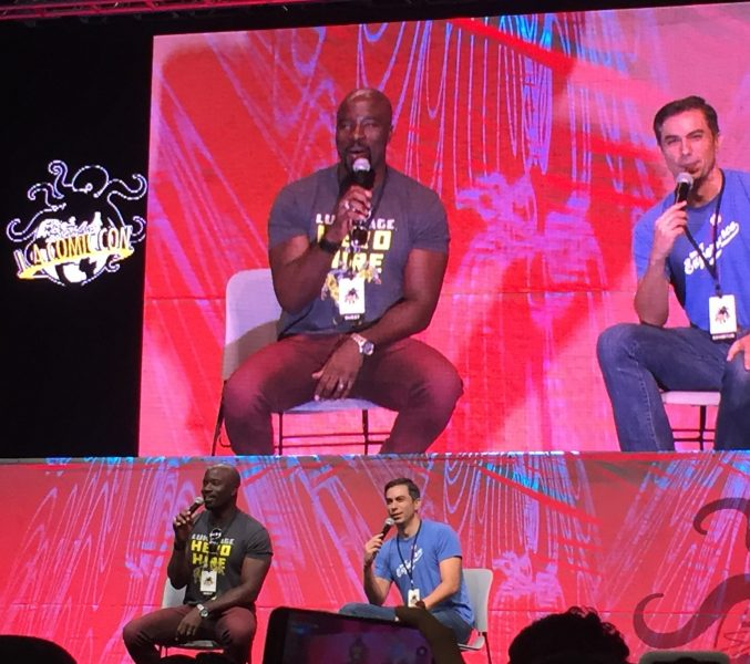 Luke Cage Mike Colter - L.A. Comic Con - 1