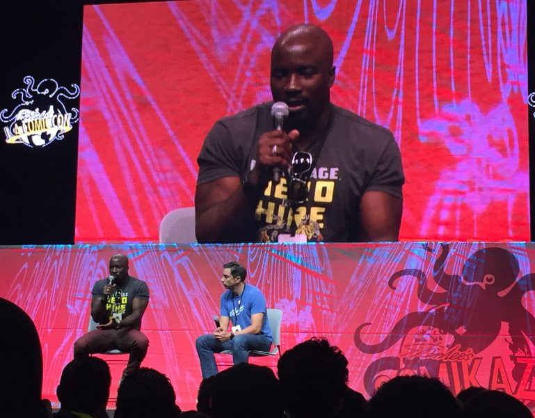 Luke Cage Mike Colter - L. A. Comic Con - 3