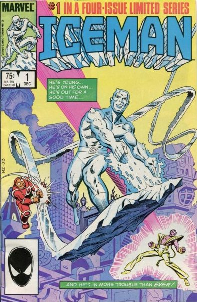 Iceman #1 limited series