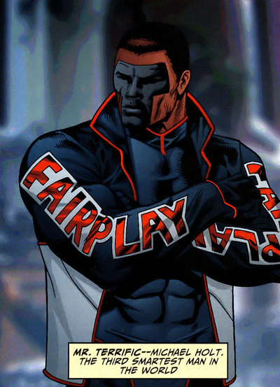 mr terrific - justice society of america