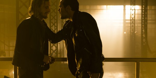 Austin Amelio as Dwight, Jeffrey Dean Morgan as Negan - The Walking Dead _ Season 7, Episode 3 - Photo Credit: Gene Page/AMC