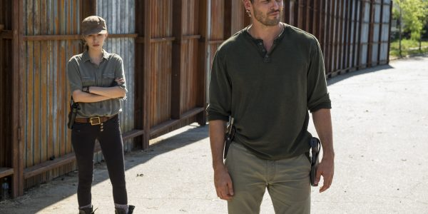 Austin Nichols as Spencer Monroe, Christian Serratos as Rosita Espinosa - The Walking Dead _ Season 7, Episode 4 - Photo Credit: Gene Page/AMC