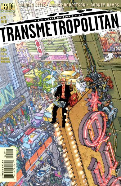 transmetropolitan #1 - vertigo comics