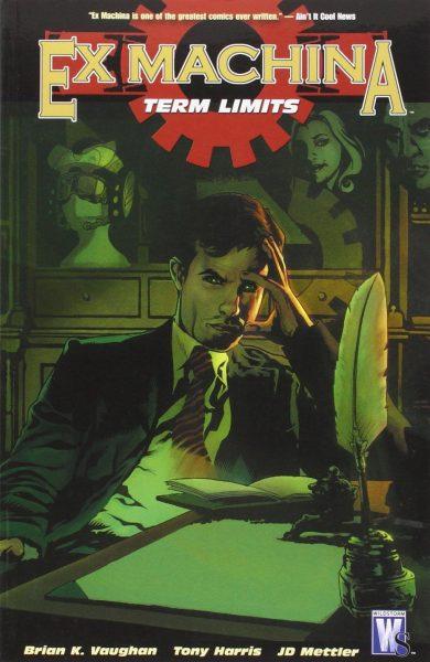 ex machina - vertigo comics
