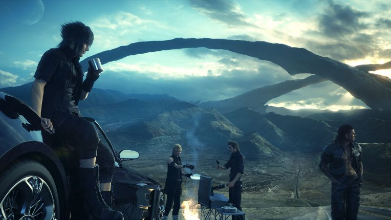 Noctis and His Crew