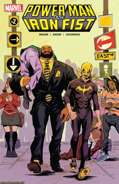 Jim's Pick Best Friendship Luke Cage and Danny Rand