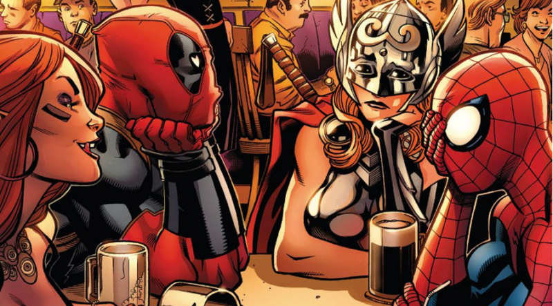 Nicole's Pick Best Character Deadpool