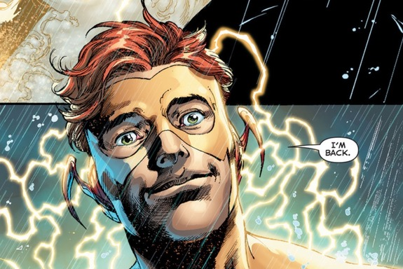 Nicole's Pick Best Moment Wally West