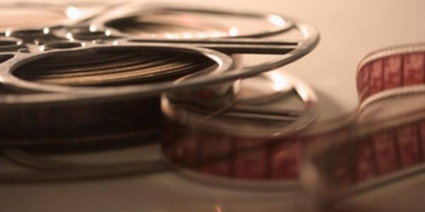 623-00713271 Model Release: No Property Release: No Closeup of film reel unrolling