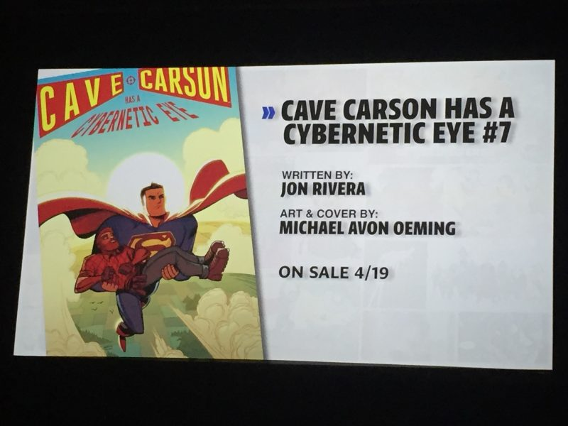 Young Animal Cave Carson #7