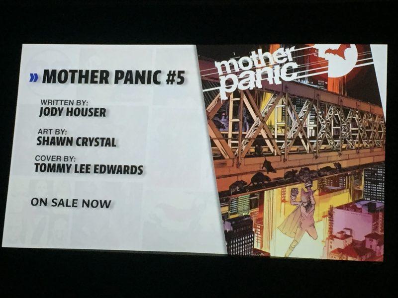 Young Animal Mother Panic #5