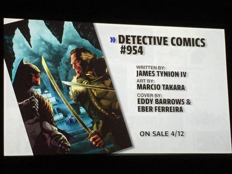 WonderCon DC Rebirth - Detective Comics