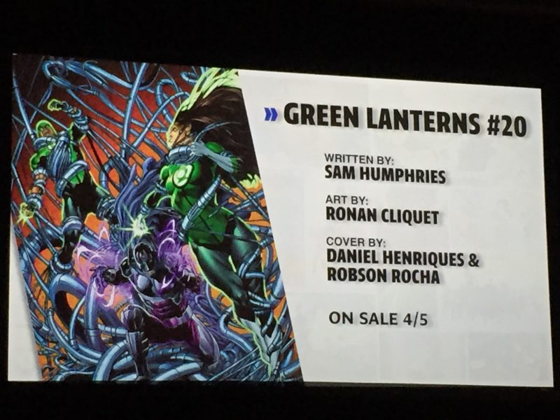 WonderCon DC Rebirth - Green Lanterns