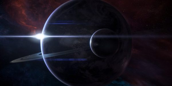 Mass Effect: Andrmeda title screen