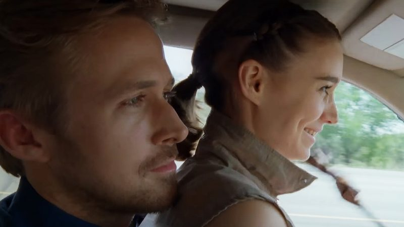 Rooney Mara and Ryan Gosling in Song to Song.