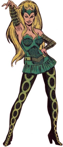 Enchantress - Top 10 Female Super Villains