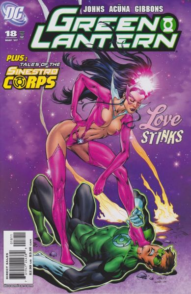 Star Sapphire - Top 10 Female Super Villains