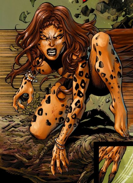 cheetah - Top 10 Female Super Villains