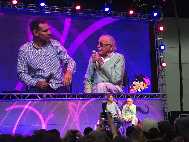 L.A. Comic Con - Stan Lee Todd McFarlane