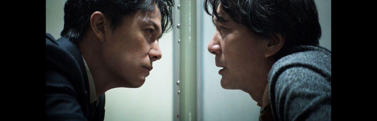 """Masahuru Fukuyama and Kôji Yakusho in """"The Third Murder."""""""